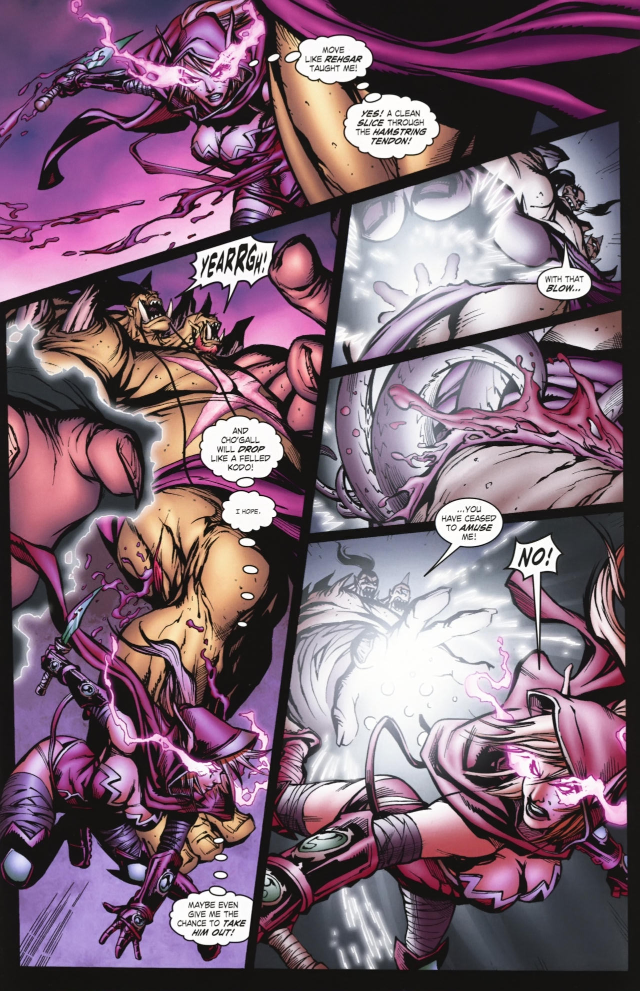 Read online World of Warcraft comic -  Issue #20 - 14