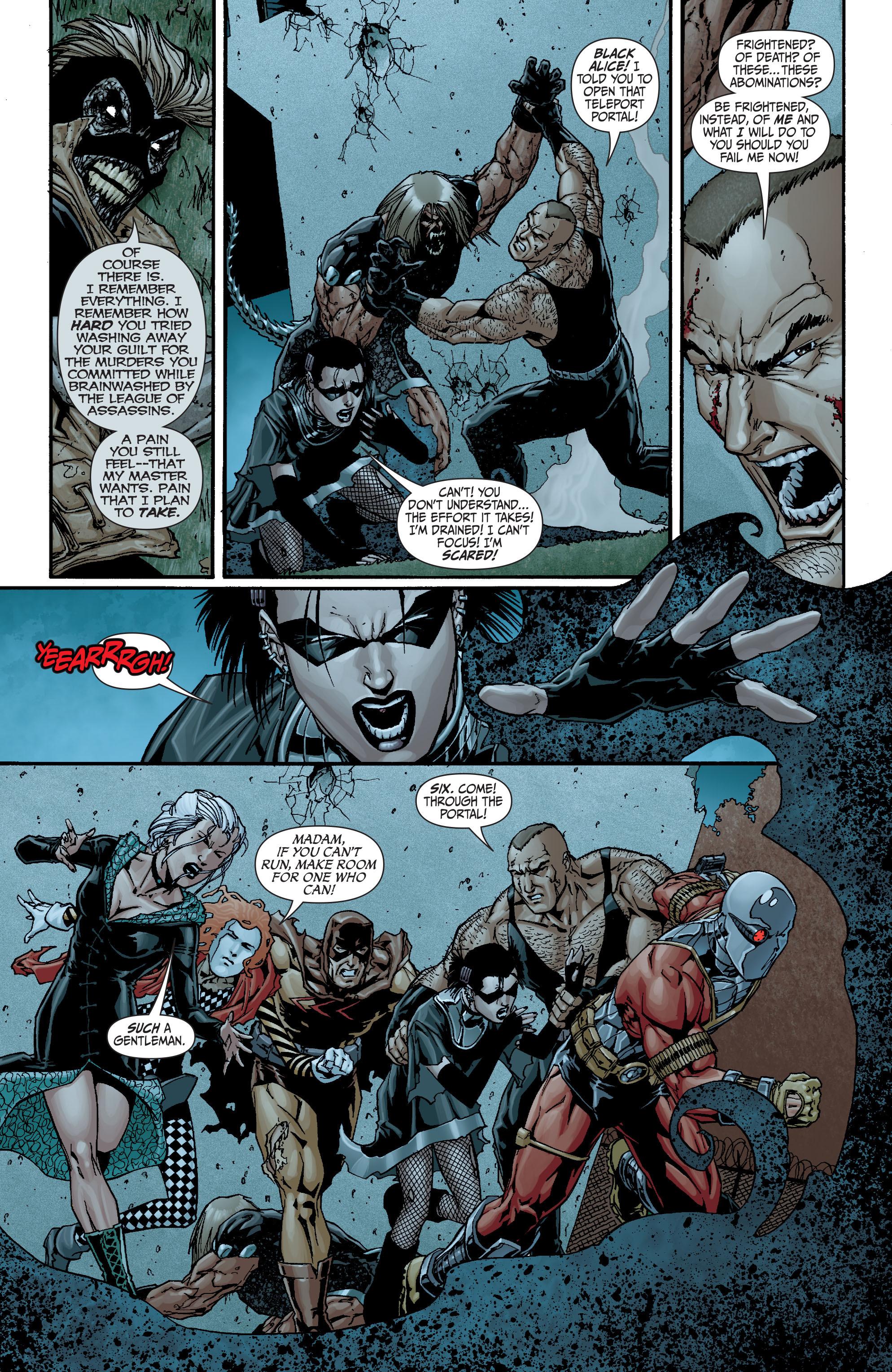 Read online Secret Six (2008) comic -  Issue #18 - 9
