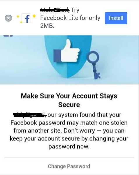 fb password