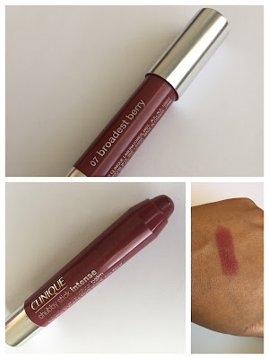 Clinique Chubby Stick Intense Lip Color Balm review and swatches