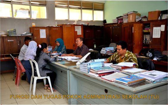 Terupdate 2017 Fungsi Dan Tugas Pokok Bagi Para Tenaga Administrasi Sekolah