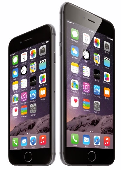 Apple IPhone 6, iPhone 6 Plus official photo