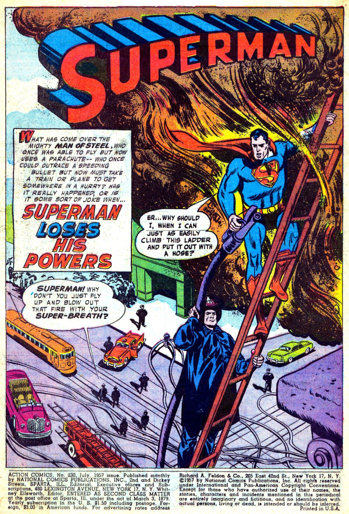 Read online Action Comics (1938) comic -  Issue #230 - 2