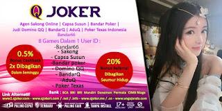 Tips Menang Jackpot Poker Online QJoker - www.Sakong2018.com