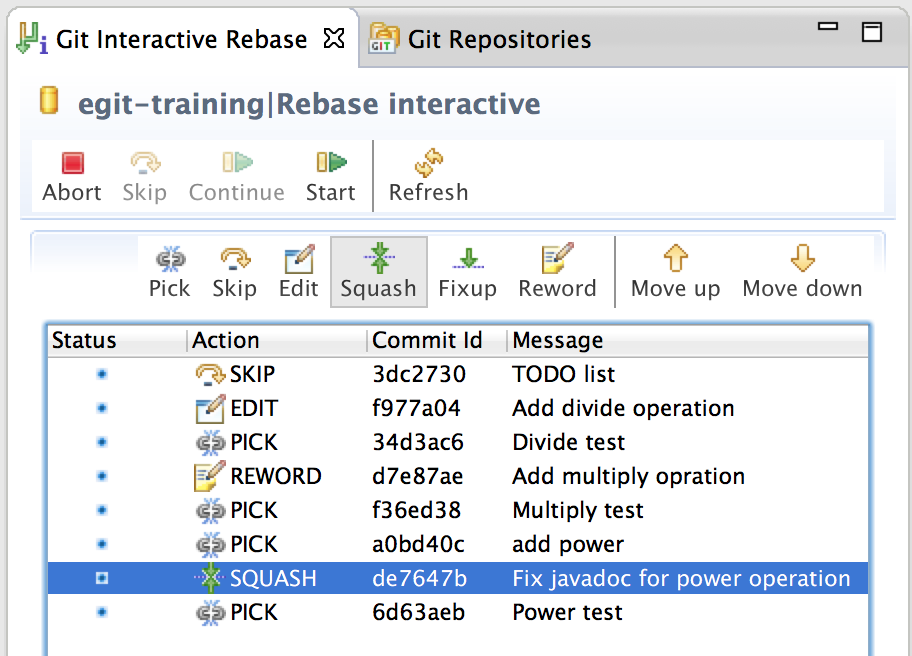 Interactive Rebase with EGit 3 2 | msohn's blog
