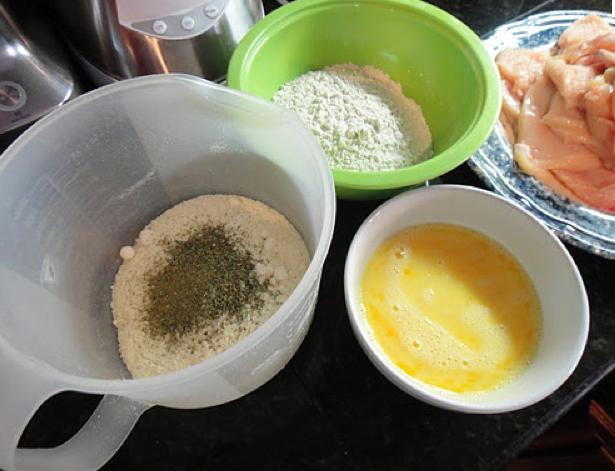 Rich Gorman The Food Dude Flour Dredging