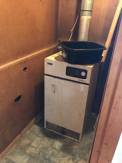 Replacing an Old Floor Standing Boiler