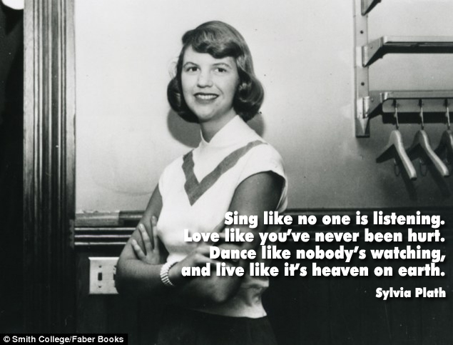 Really real Sylvia Plath quote