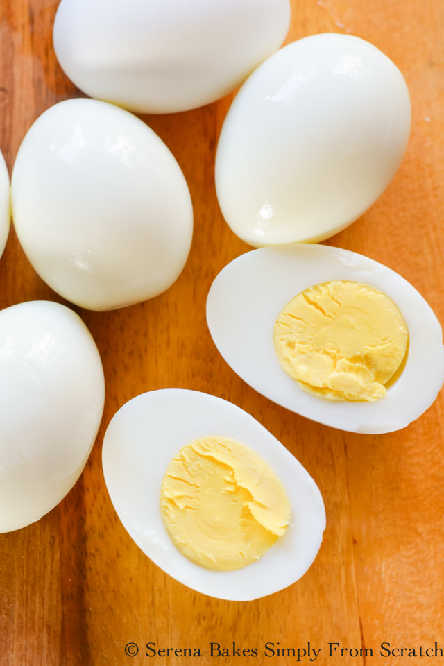 How to make Easy Peel Perfect Hard Boiled Eggs that slip right out of the shell.