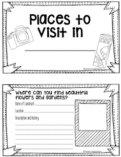 "Students can enjoy this Summer Scavenger hunt with their family or as a class assignment. Have fun ""Exploring Your City."""