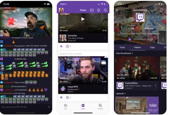 تطبيق-Twitch-ايفون