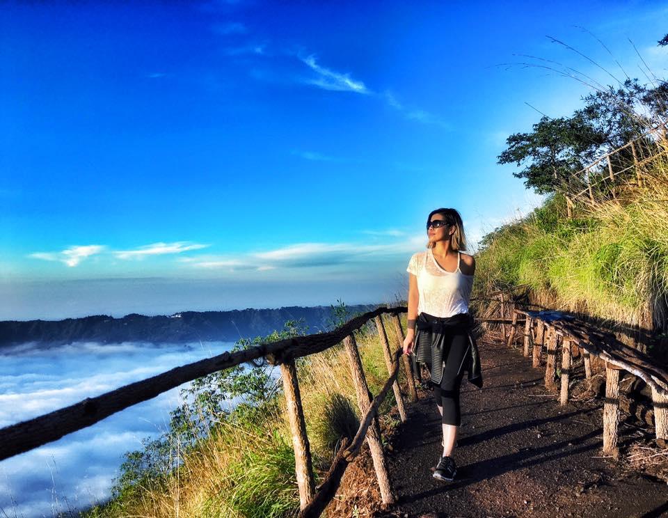 Crystal Phuong- #TravelwithCrystal- Bali, Mount Batur Volcano