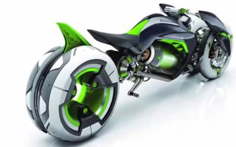 Gambar motor kawasaki tercanggih di masa depan