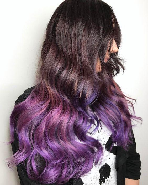 Кристальное окрашивание волос - новый бьюти-тренд