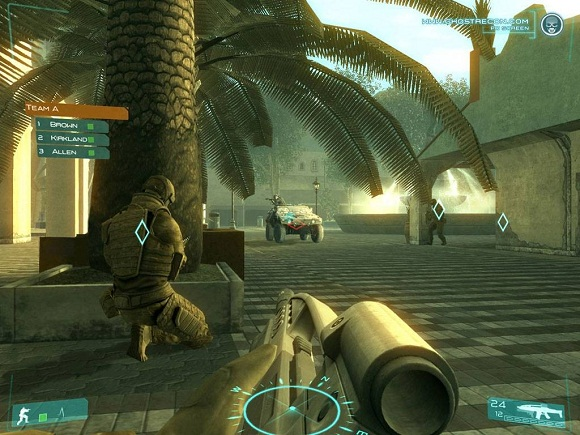 Tom Clancys Ghost Recon Advanced Warfighter PC Full Version Screenshot 1