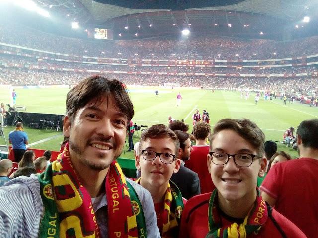 jogo da seleção portuguesa no estádio da luz