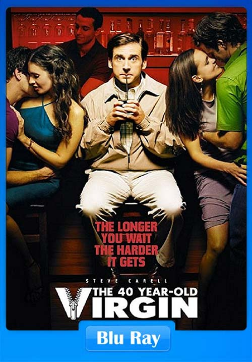 The 40 Year Old Virgin UNRATED 2005 720p Hindi BluRay Dual Audio x264 Poster