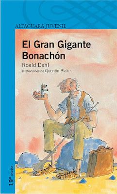 """Libros de Fantasía para niños: """"El gran gigante bonachón"""", de Roald Dahl."""