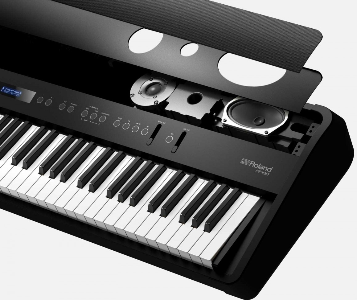 Az piano reviews review roland fp90 digital piano for 2 box auto separati piani gratuiti