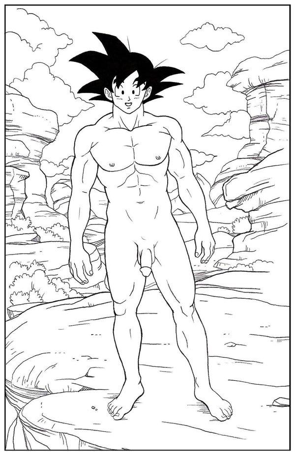 Goku Naked Big Cock