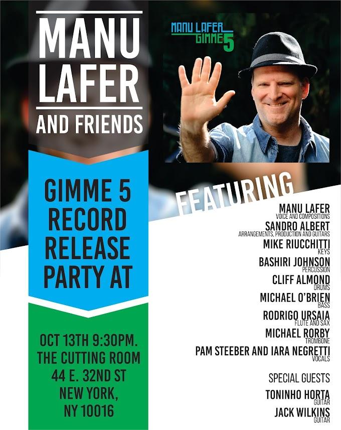 Show de Lançamento Gimme5 de Manu Lafer