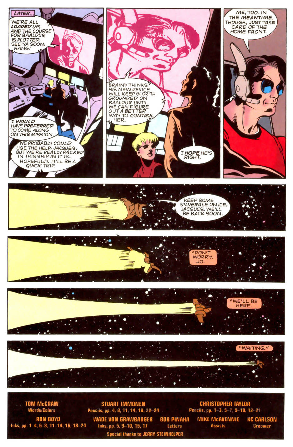 Legion of Super-Heroes (1989) 52 Page 24