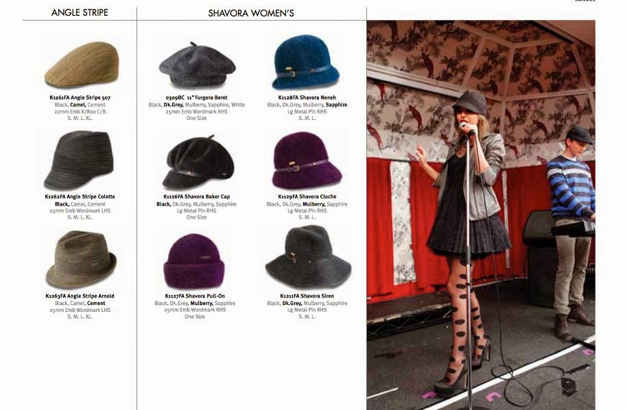 Irena D The Face Of Kangol Campaign 2012