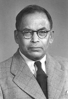 Meghnad Saha was born on Oct. 06, 1893 in Seoratali, Dacca, now in Bangladesh. In childhood, he boycotted the school on the visit of British Governor and so was turned out of the school and lost his scholarship. After passing school certificate in first division, he joined Presidency College Calcutta where he was taught by teachers like J.C. Bose and P.C. Ray and had school mates like S.N. Bose and P.C. Mahalanobis. Working in the field of astrophysich, he put forward an ionization formula, which enabled an astronomer to know the temperature, pressure and other aspects of interior of the sun or any other star. In 1927 he was elected Fellow of Royal Society.
