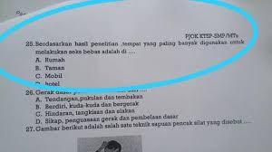 Astagfirullah, Soal Ujian SMP Model Apa Ini? Lama-lama Bisa Rusak Generasi Indonesia