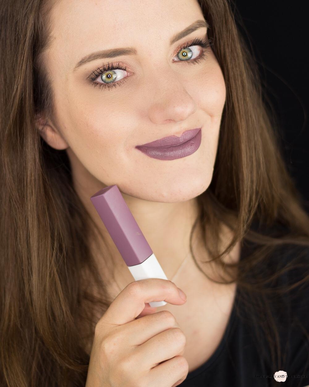 Maybelline Super Stay Matte Ink Visionary Tragebild Lipswatch Review