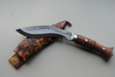 From Nepal, a fighting knife
