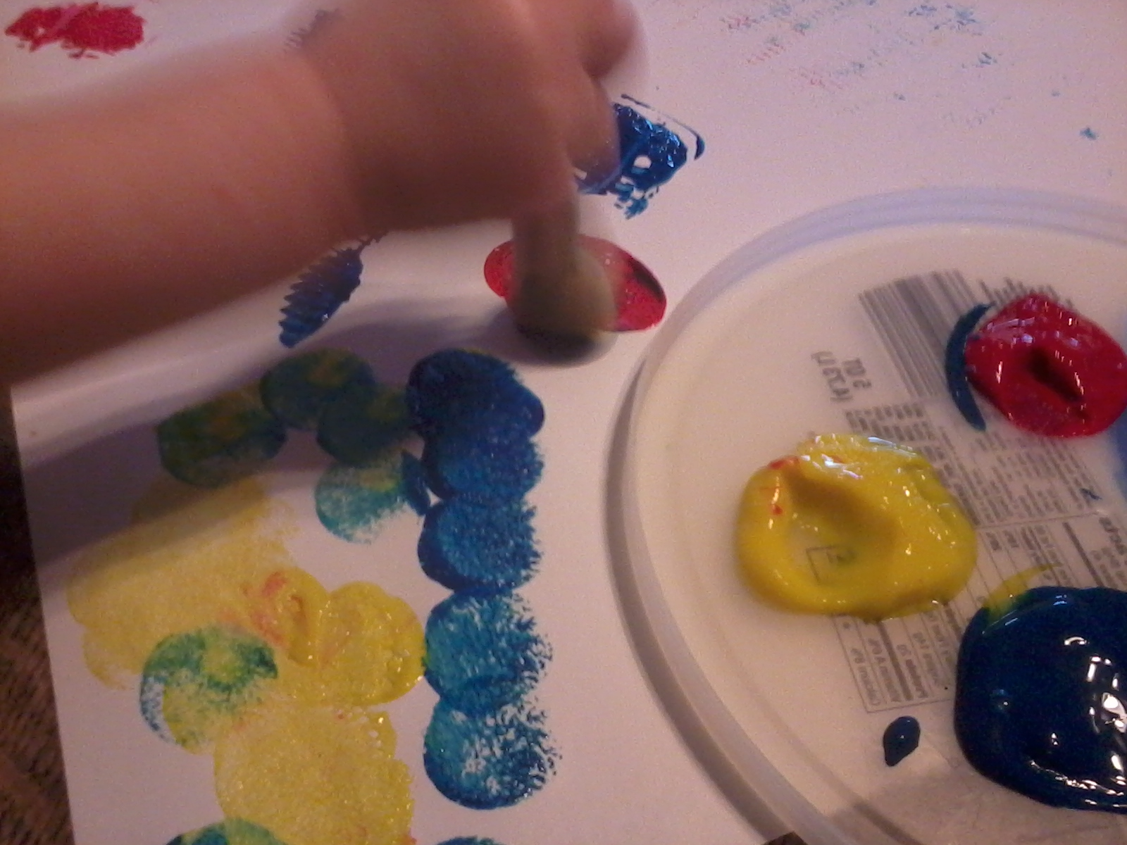Preschool And More Mouse Paint And Mouse Shapes