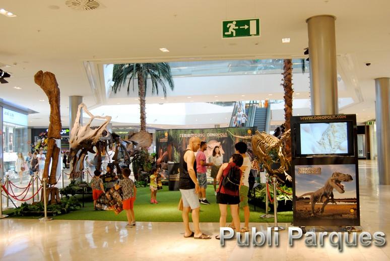 Exposición Dinosaurios Dinópolis Puerto Venecia