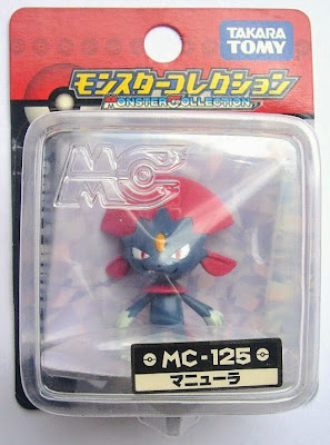 Weavile figure Tomy Monster Collection MC  series