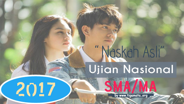 Download Soal UN SMA/MA 2017 Pdf Naskah Asli Lengkap