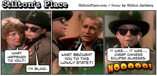stilton's place, stilton, political, humor, conservative, cartoons, jokes, hope n' change, eclipse, nazis, glasses, remodeling, trump