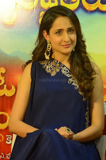 Pragya Jaiswal in beautiful Blue Gown Spicy Latest Pics February 2017 120.JPG