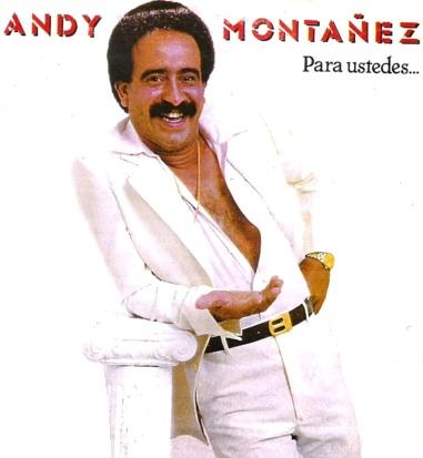 Foto de Andy Montañez con más cabello