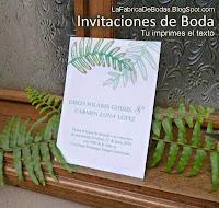 venta elegantes tarjetas para imprimir para boda matrimonio en guatemala