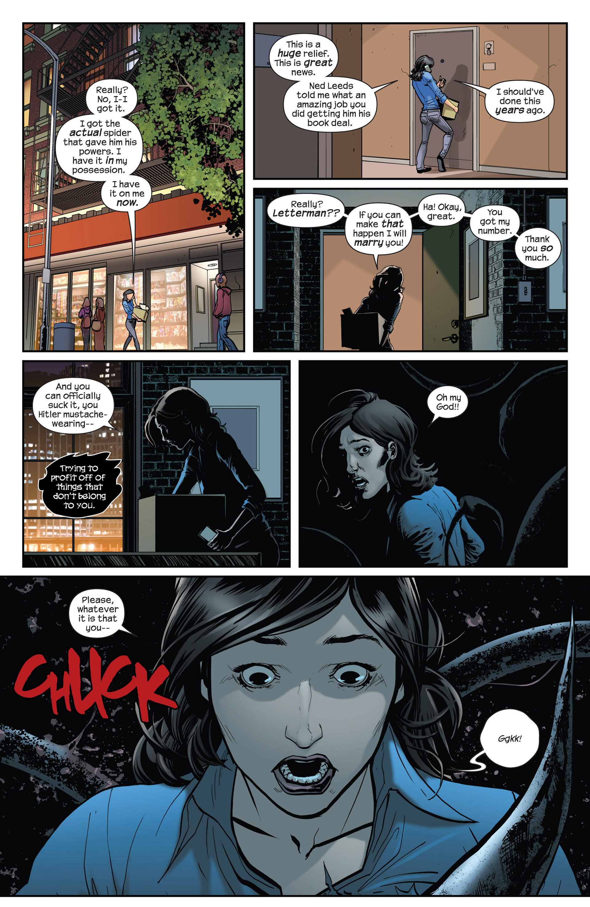 Read online Ultimate Comics Spider-Man (2011) comic -  Issue #16.1 - 17