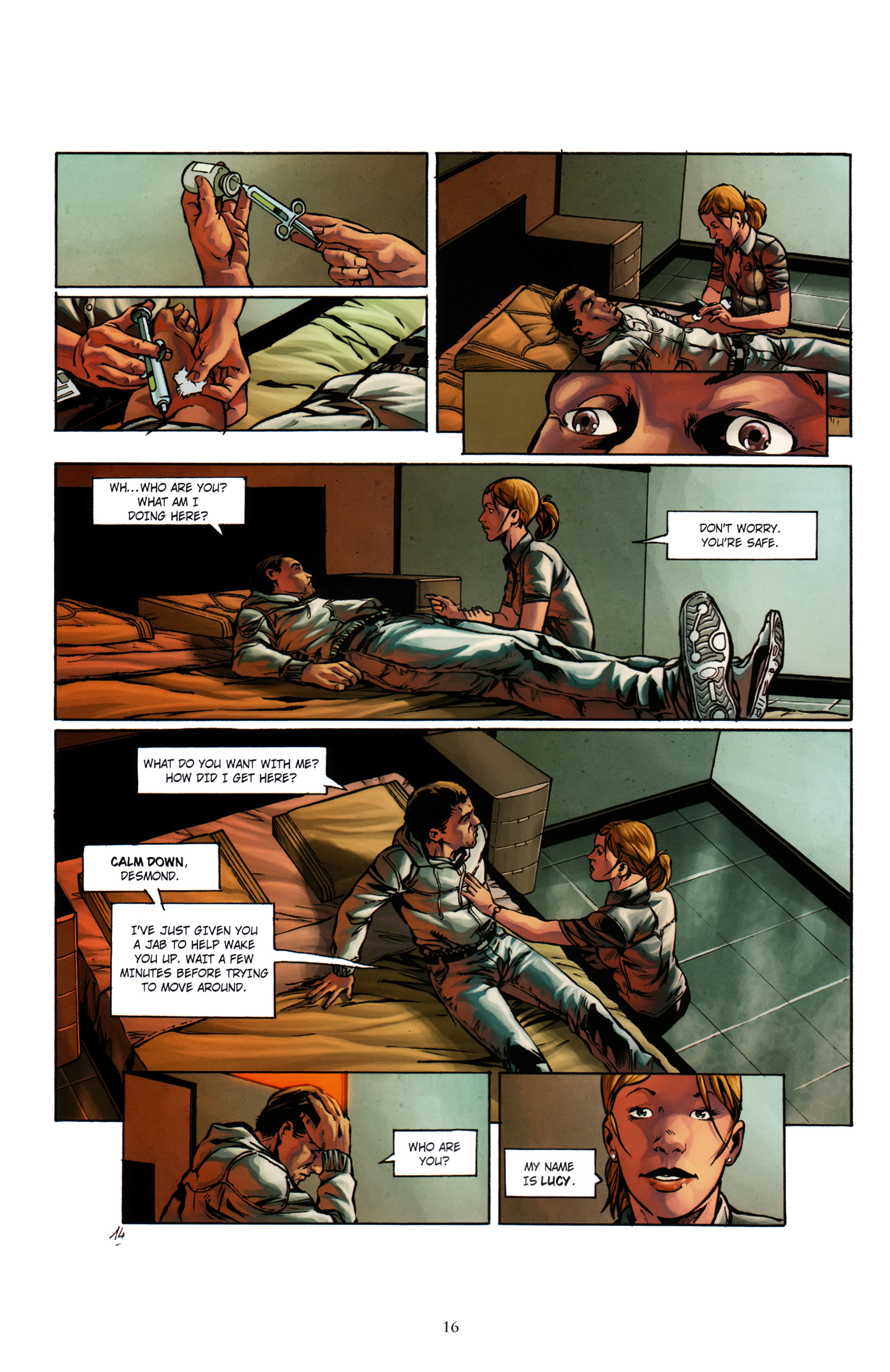 Read online Assassin's Creed (2012) comic -  Issue #1 - 20