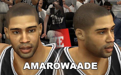 NBA 2K13 Gary Neal Cyberface Patch