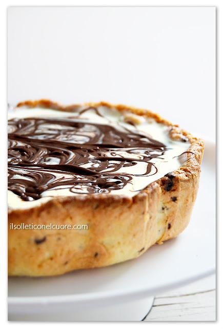 crostata-nutella-mascarpone-marmorizzata