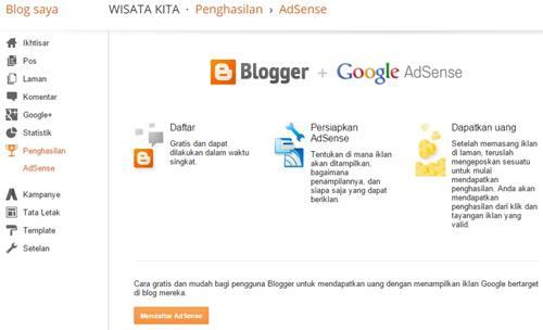 Apa Itu Google Adsense? Dan Bagaimana Cara Daftarnya