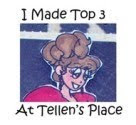 I Won top 3 with my Card#33 @ TellensPlace