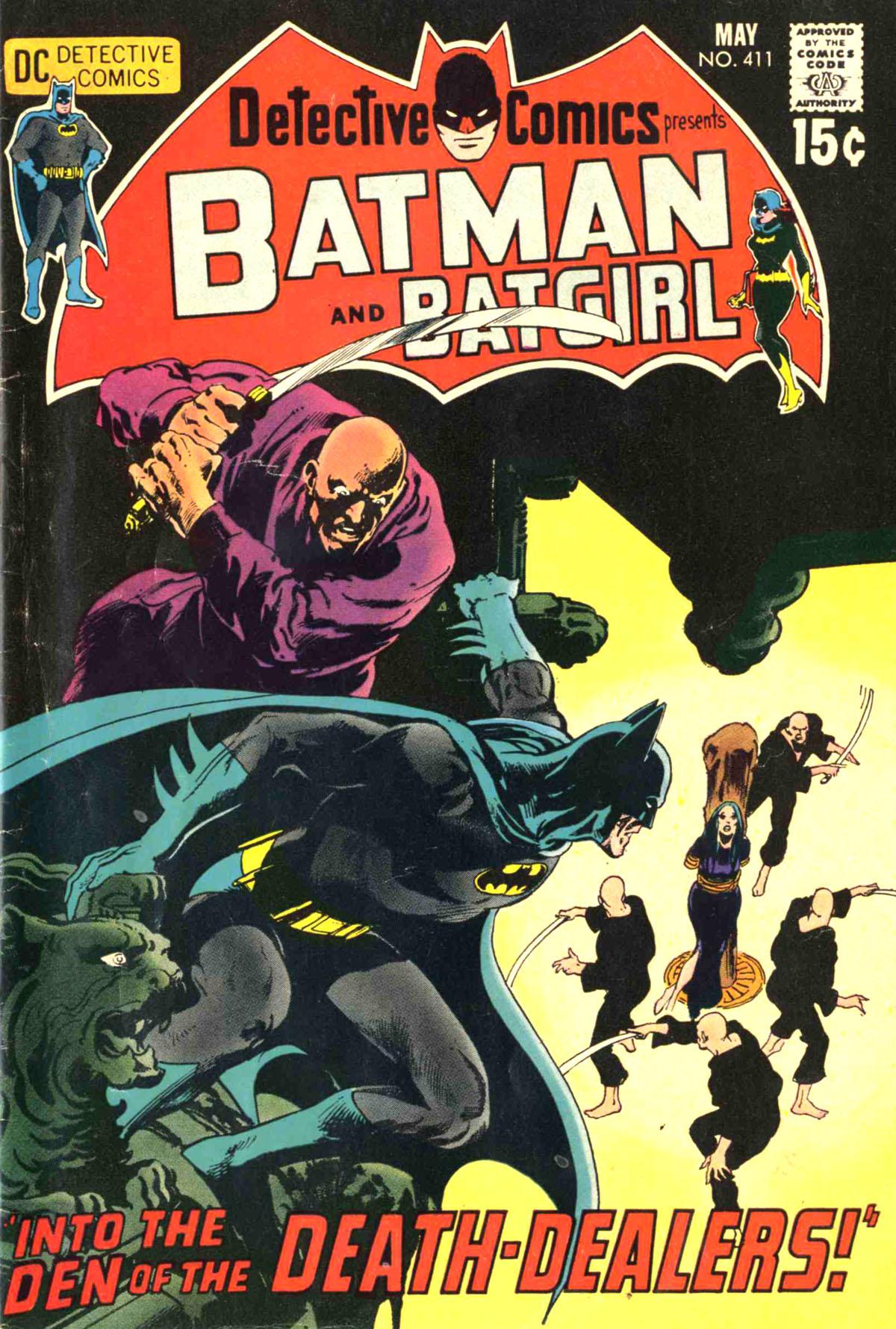 Detective Comics (1937) 411 Page 1