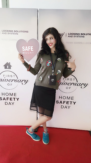 Dipty Gharat at Home Safety DAY AT Godrej ONE