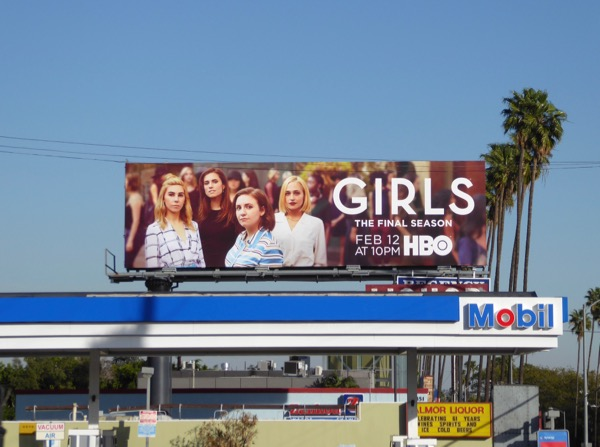 Girls season 6 billboard