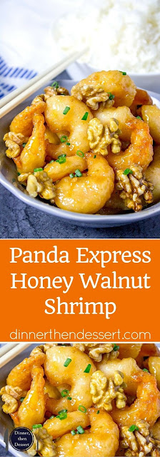 PANDA EXPRESS HONEY WALNUT SHRIMP