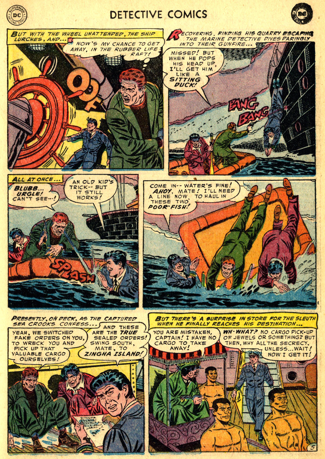 Read online Detective Comics (1937) comic -  Issue #205 - 29
